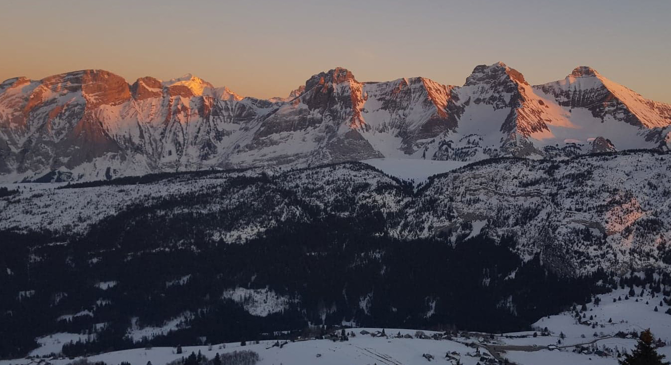 domaine nordique solaison web cam ski de fond haute-savoie